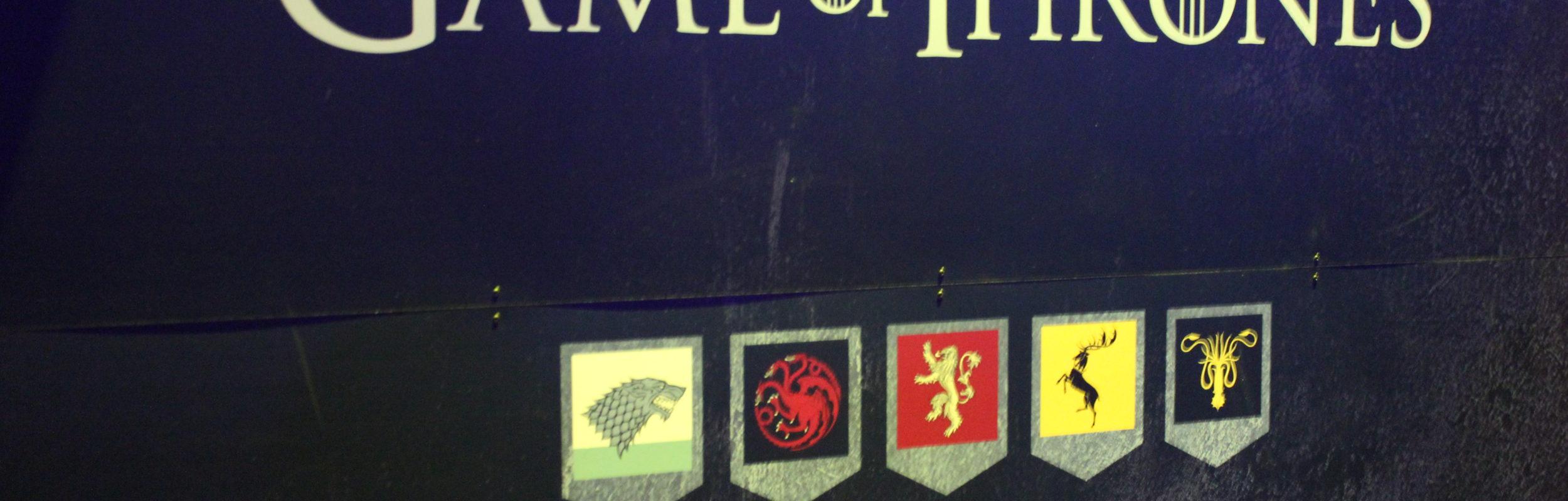 Exposition Game of Thrones ou comment je suis montée sur le Trône de Fer