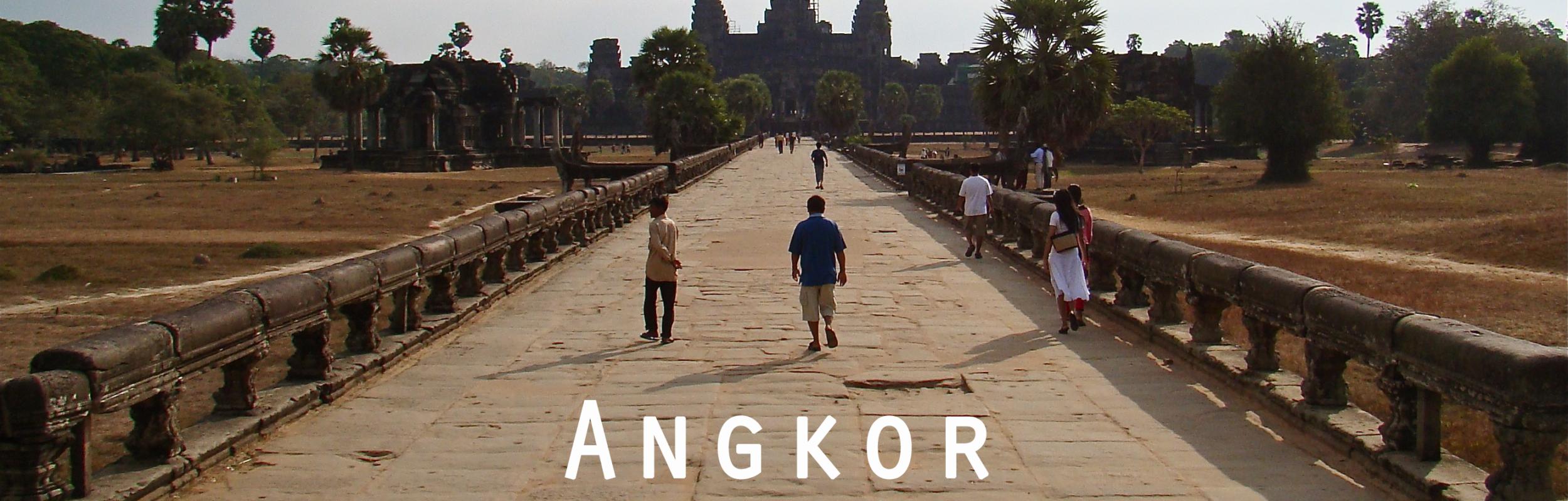 Premiers pas à Angkor, Cambodge – Janvier 2009