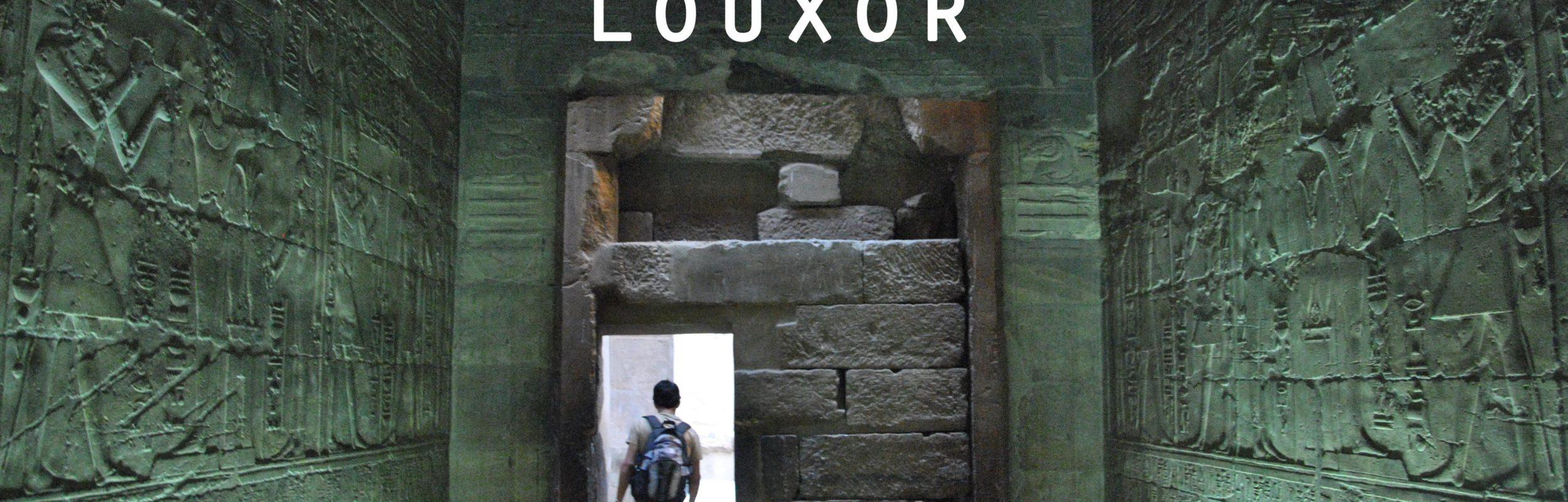Egypte : Louxor, j'adore