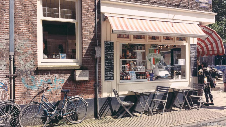 Un long week-end à Amsterdam : le quartier Jordaan et le port 2/2