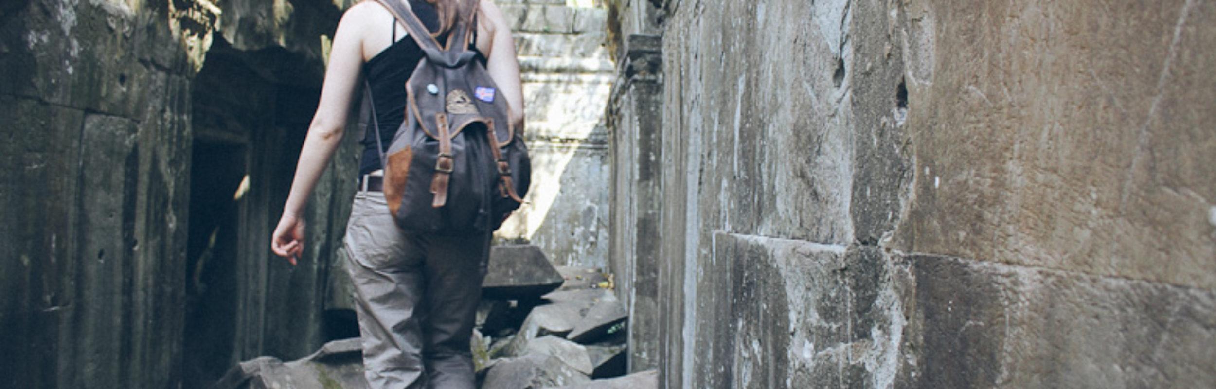 Temples d'Angkor : Beng Mealea, temple laissé à l'état sauvage