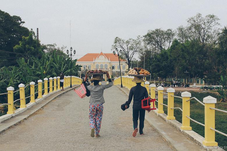 Cambodge trip : charmante Battambang, ancienne ville coloniale française
