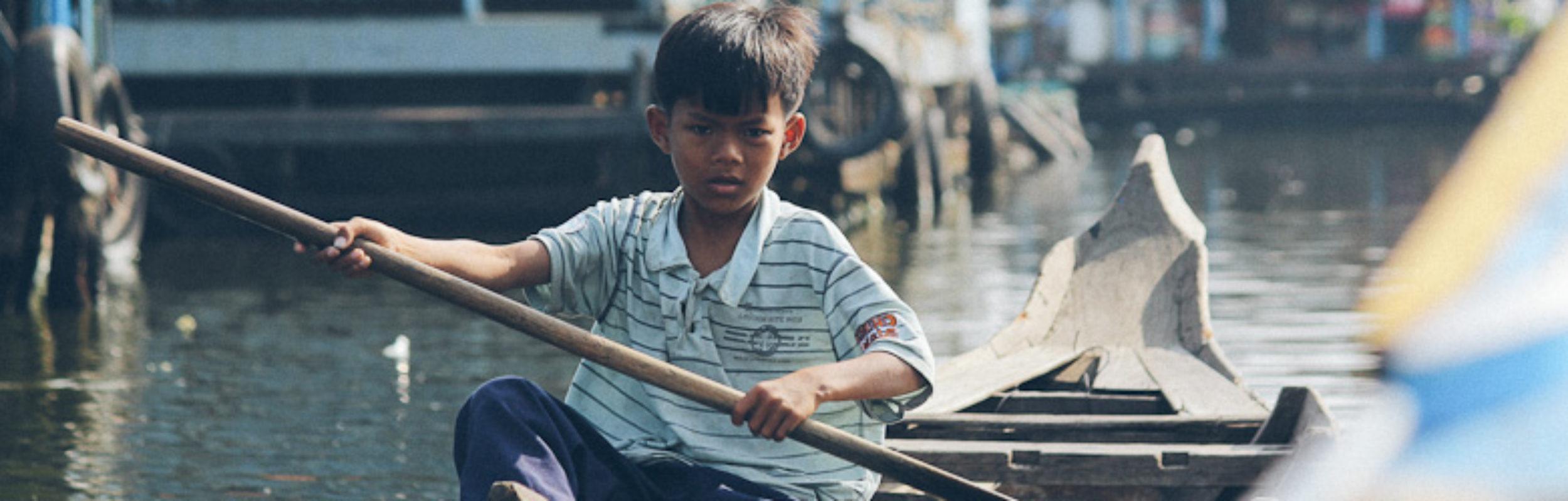 Cambodge trip : Kompong Luong, village flottant du Tonlé Sap
