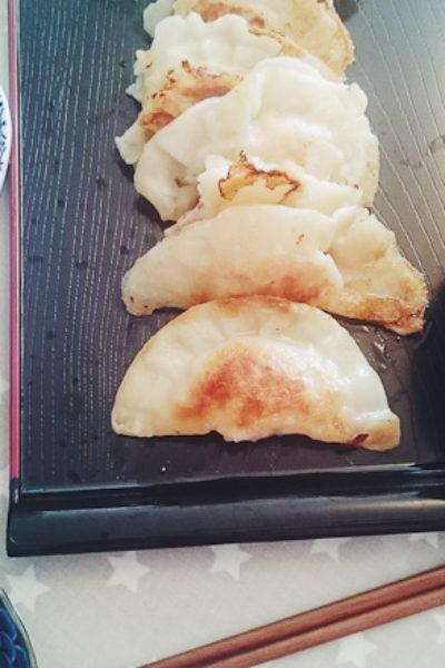 Japon : Gyozas porc-crevettes (presque) comme les vrais !