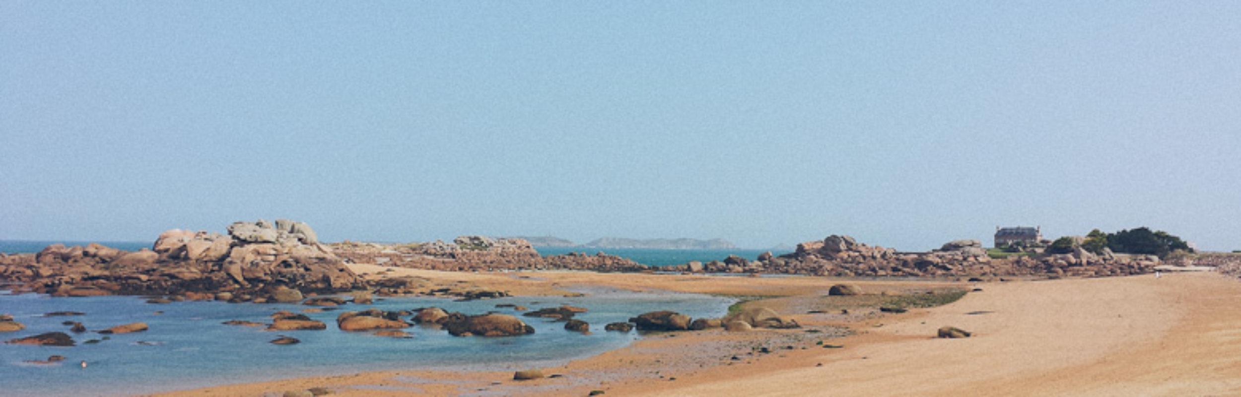 Road-trip en Bretagne : la presqu'île Renote et Locquémeau à marée basse ! [Côtes-d'Armor]