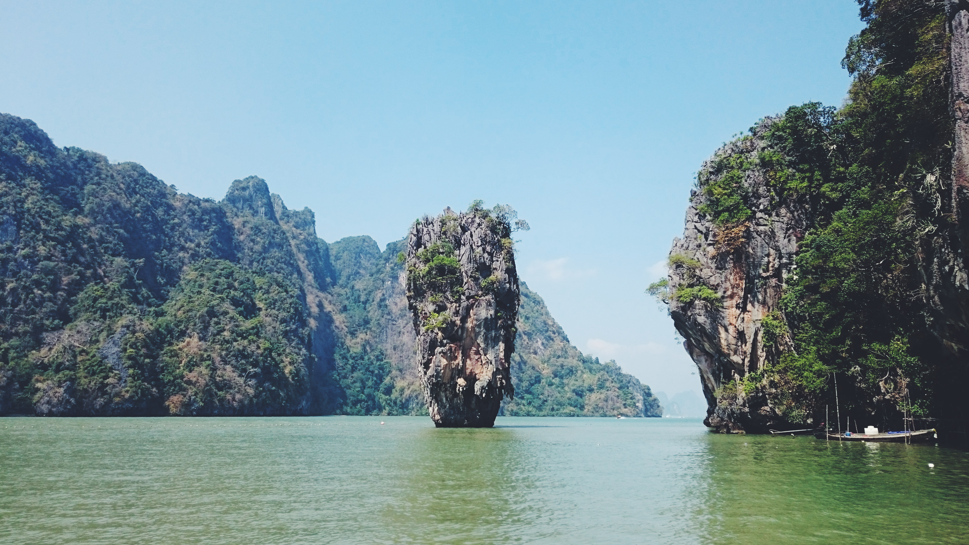 "Thaïlande : excursion dans la baie de Phang Nga et ""James Bond Island"""