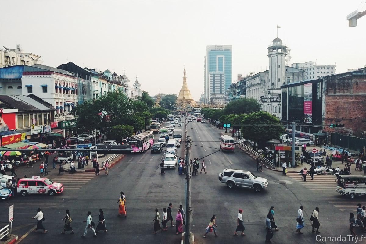Birmanie : 4 jours au coeur de Yangon, l'étonnante capitale
