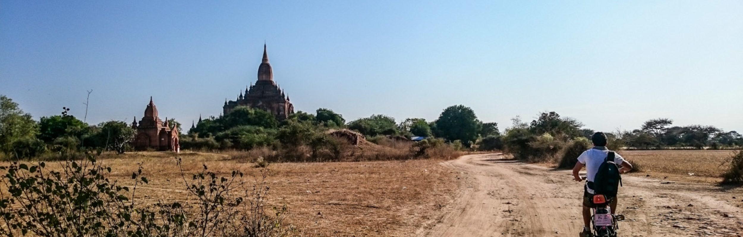 Birmanie : les temples de Bagan à vélo électrique, inoubliable !