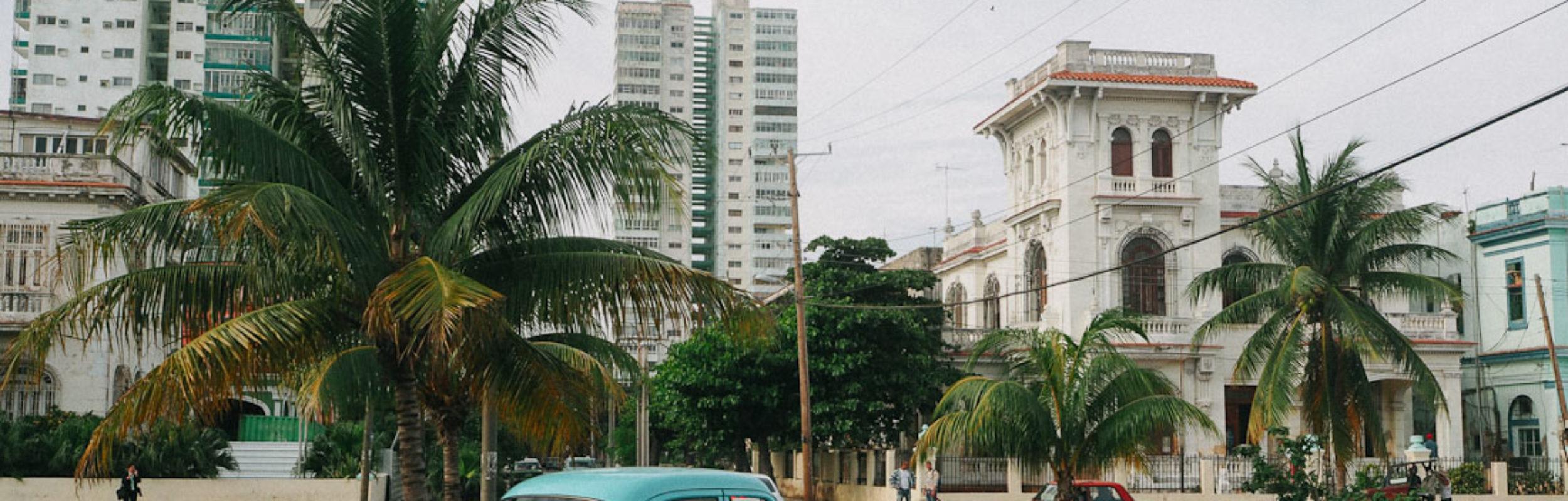 La Havane : El Vedado, comme un air d'USA à Cuba…