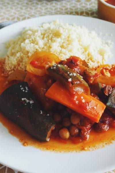 Recette de couscous végétarien / vegan facile