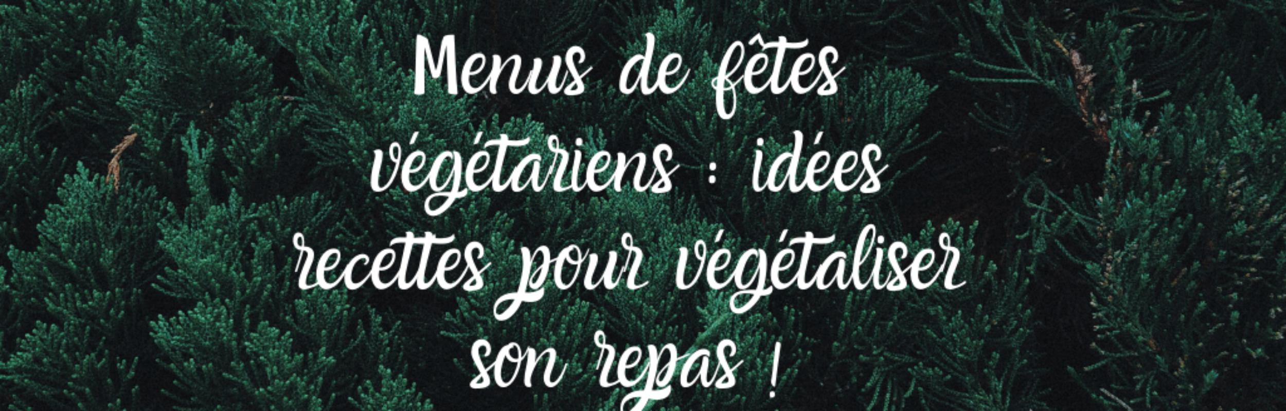 Menu de Noël végétarien : idées de recettes de fêtes pour végétaliser son repas !