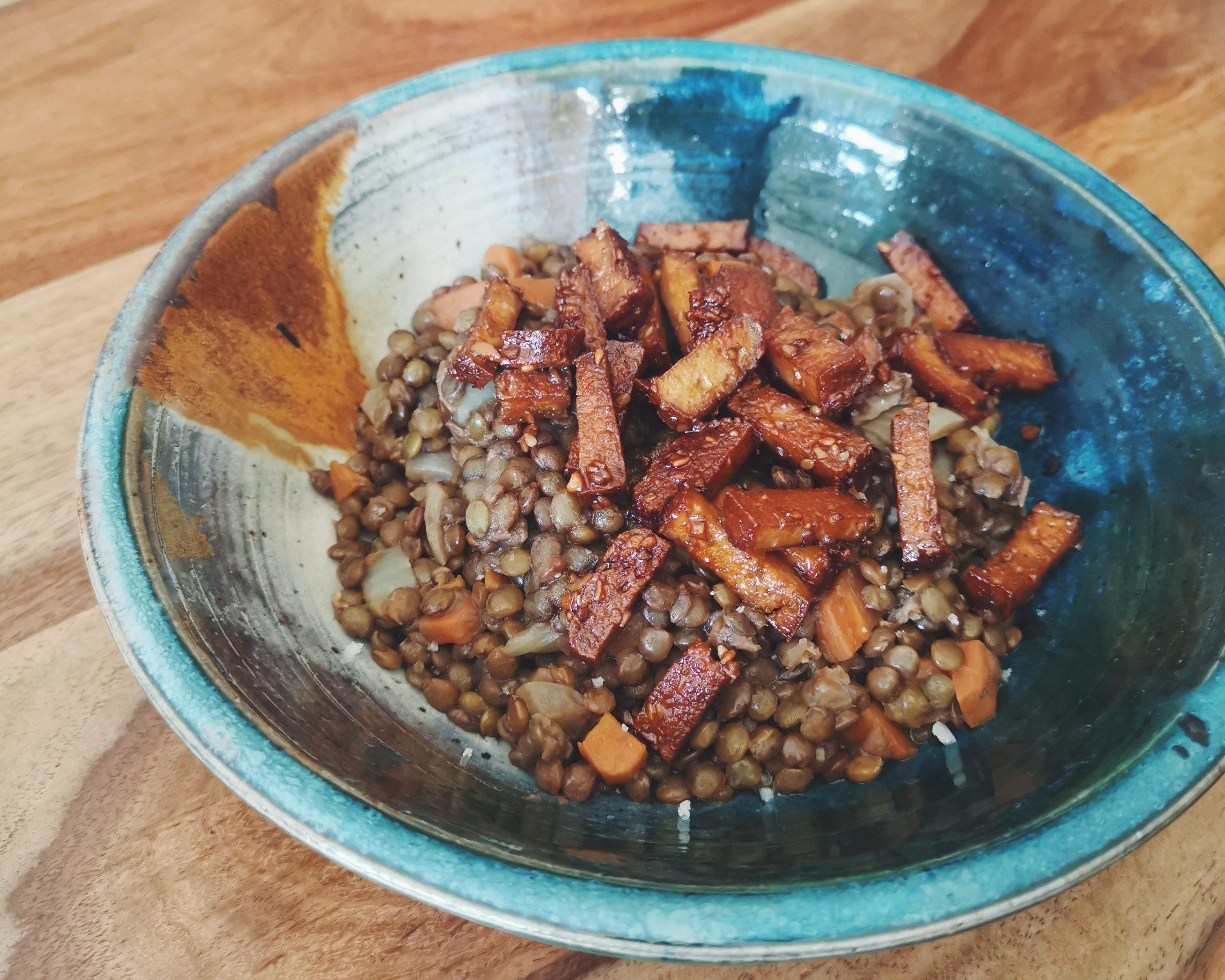 recette de lardons vegan